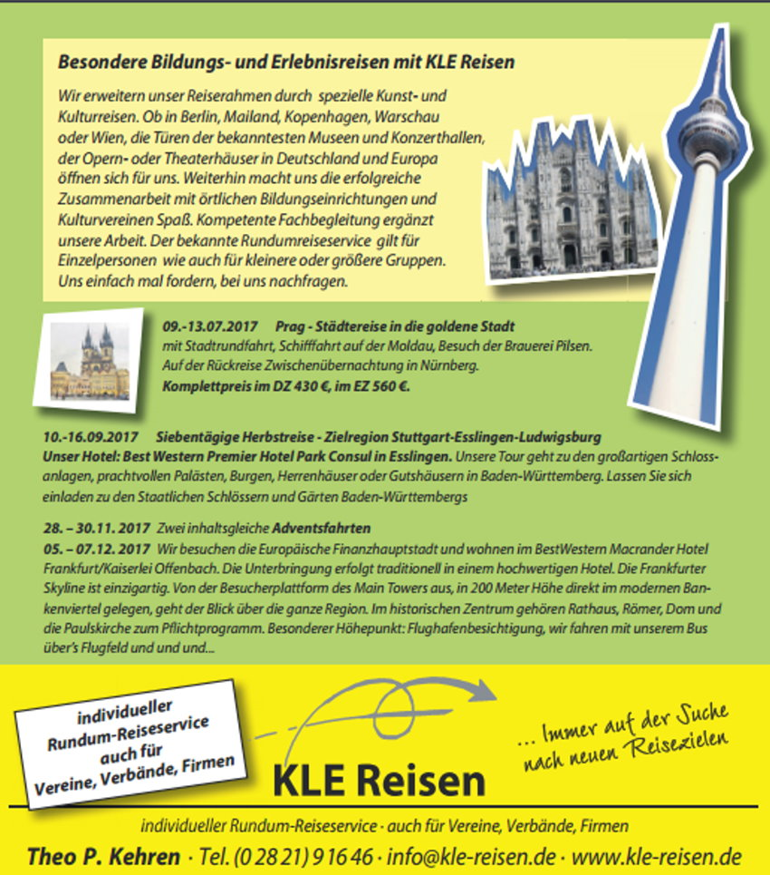 KLE-Reisen - Individueller Rundum-Reiseservice