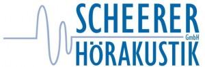 scheerer hörakustik gmbh logo